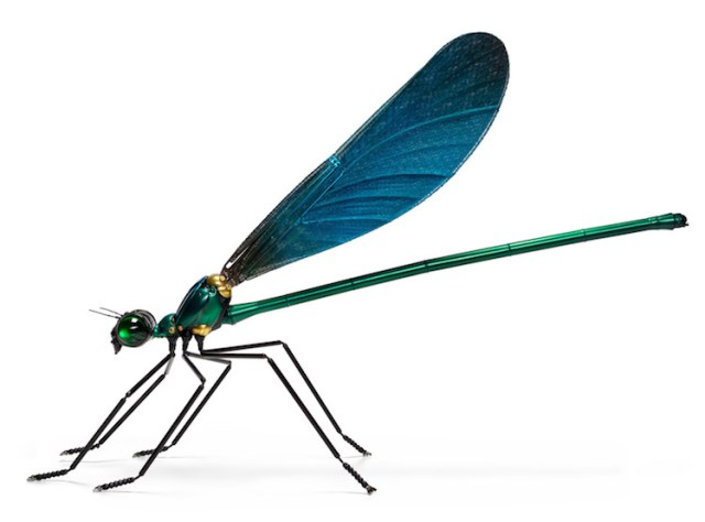 Scrap Metal Insect Sculptures by Edouard Martinet