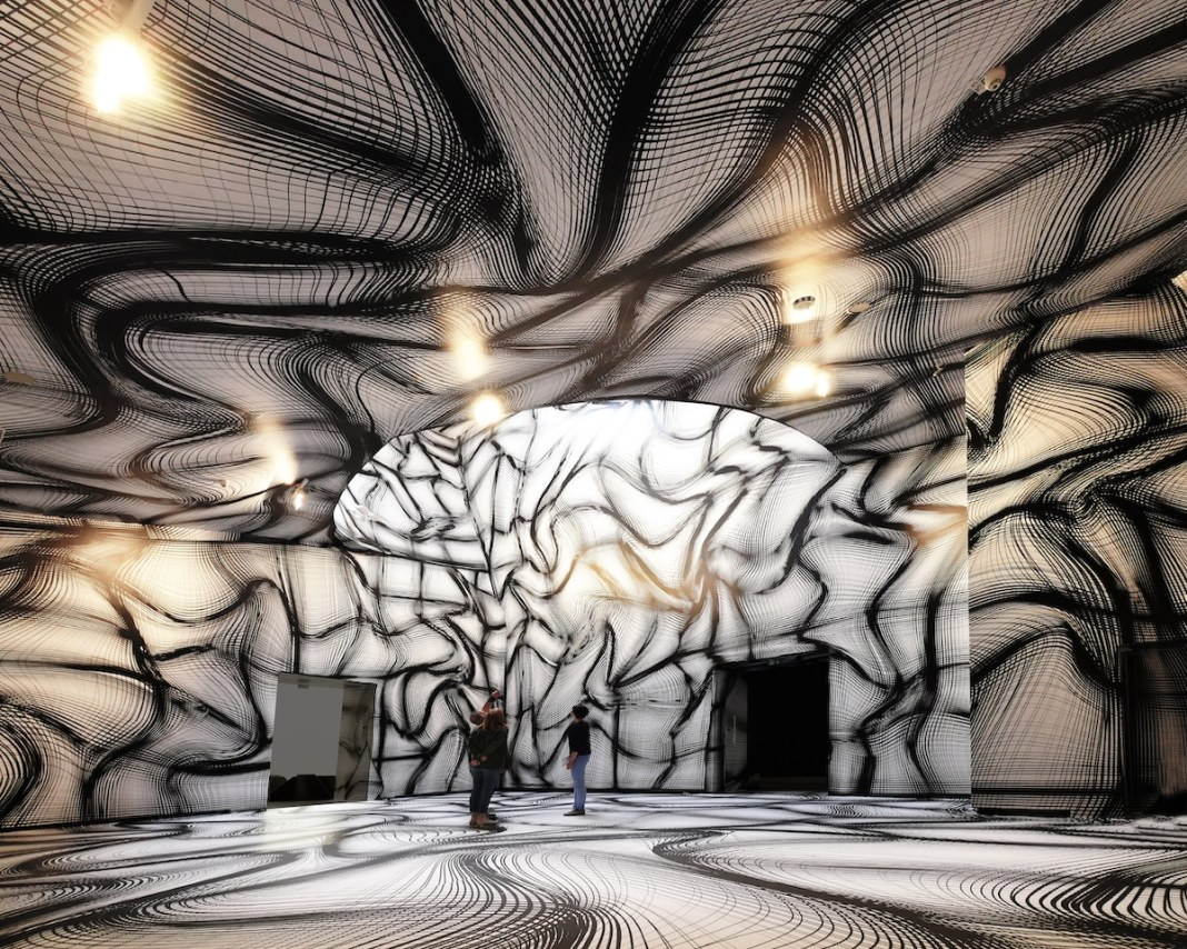 Spatial Art Installations by Peter Kogler