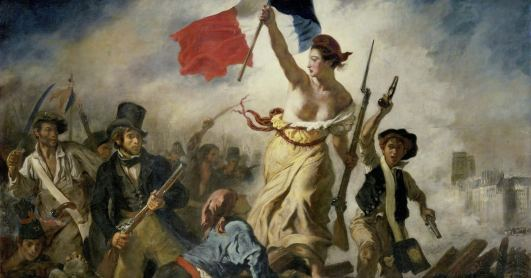 Liberty Leading the People,' an Important French Revolution Painting