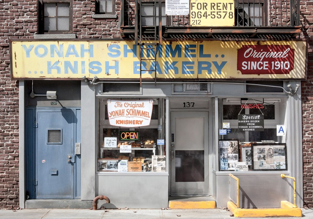 NYC Storefronts Miniature Models by Randy Hage