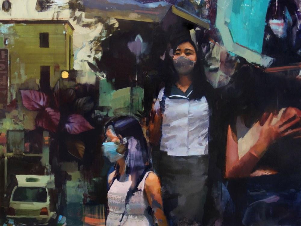 Korea Oil Paintings by Mike Ryczek