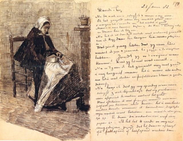 Van Gogh Letter