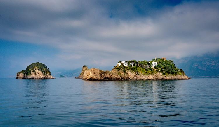 Gallo Islands in Italy