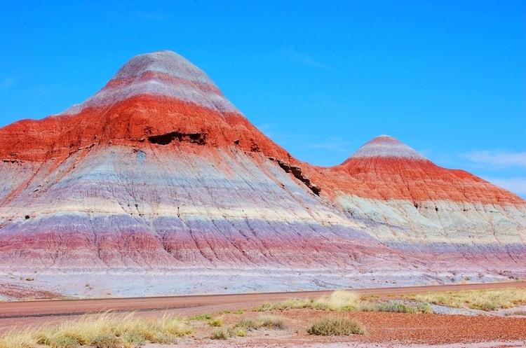 Painted Desert Landscape in Arizona