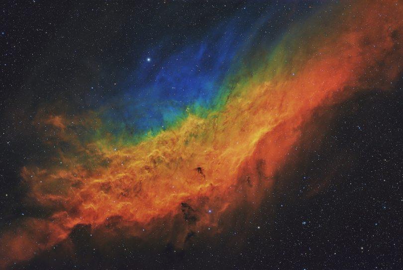 Colorful California Nebula
