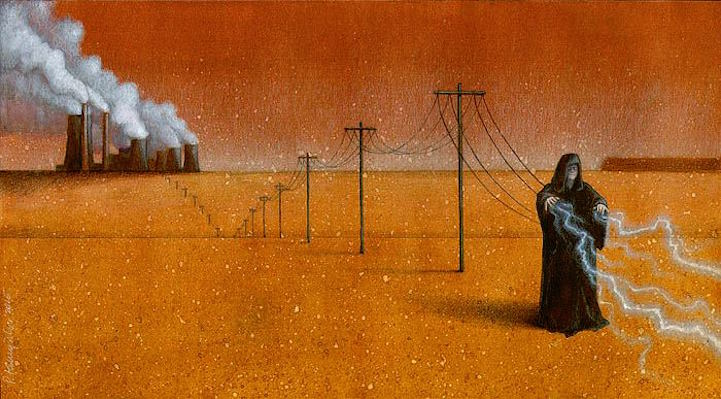 satirical illustrations by pawel kuczynski  u2013 flow art station