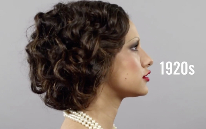 Changing Beauty Hairstyles And Makeup Over 100 Years In