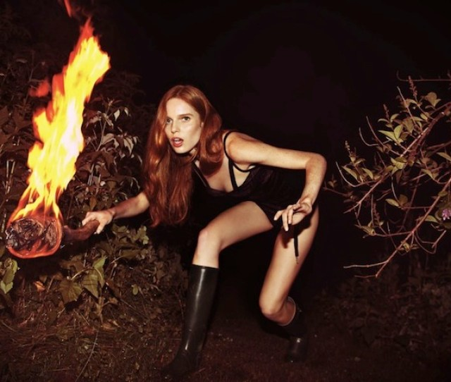 Stranded On A Seemingly Deserted Island A Scantily Clad Drop Dead Gorgeous Redhead Finds Herself In A Precarious Situation Knowing She Has To Work To