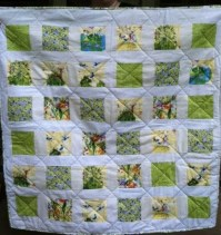 Baby Quilt for Emily & Robert's Granddaughter Iva