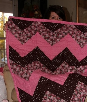 Baby Quilt for Richie and Shannon's granddaughter Beya