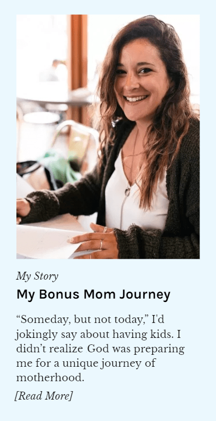 My Bonus Mom Story