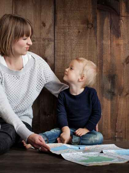 tips for tiried mamas spending time with kids