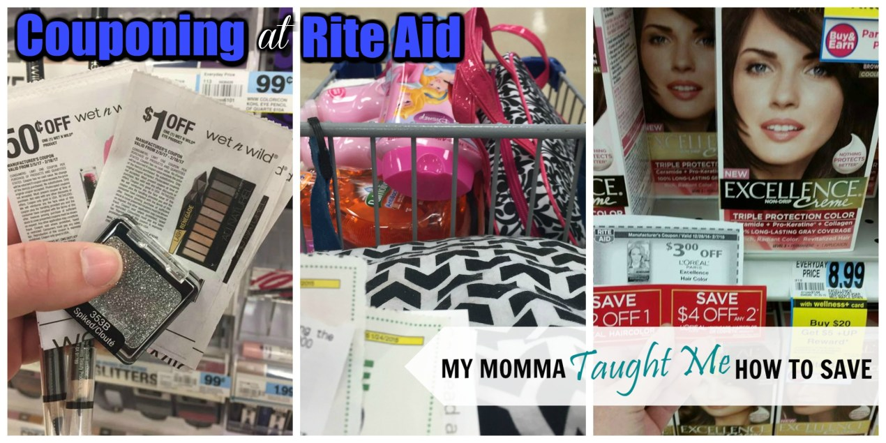 Couponing At Rite Aid With My Momma Taught Me