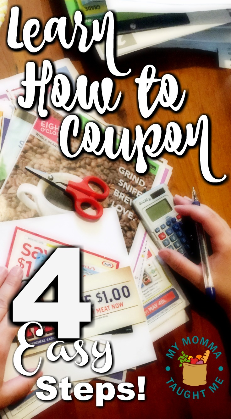 Learn How To Coupon 4 Easy Steps