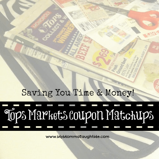 Tops Coupon Matchups Week of 3-12