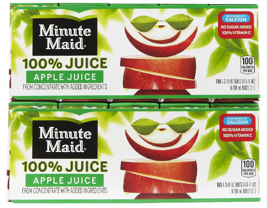 New $1.00/1 Minute Maid Juice Box Coupon + Deals