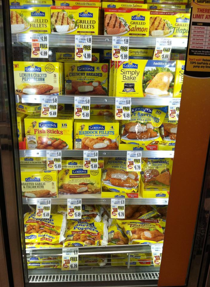 Gorton's Fish Fillets - BOGO as low as $5.49 at tops markets