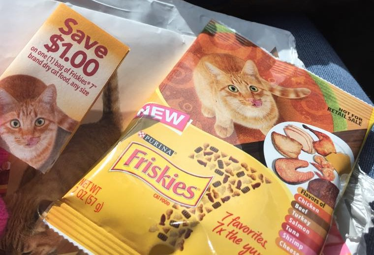 FREE Sample of Purina Friskies 7 Cat Food - My Momma Taught Me