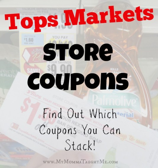 Tops Store Coupons You Can Stack