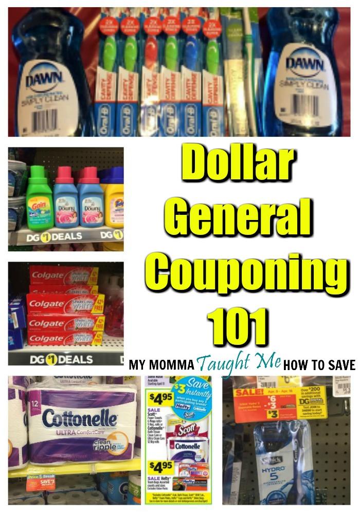 Dollar General Couponing 101