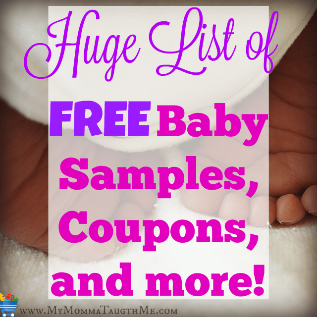 Free Baby Samples and Coupons