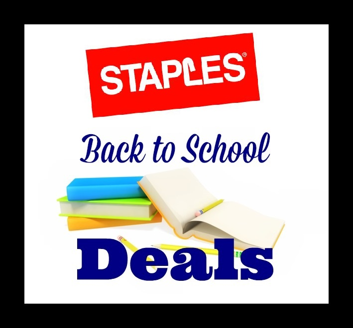 Staples: Back to school sales! $ deals again! July 9, By Tiffany 14 Comments By clicking on our links, we might make a SMALL commission - Thanks for .