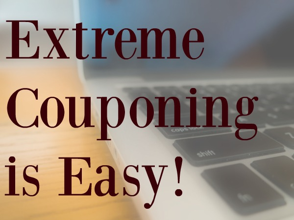 Extreme Couponing is Easy