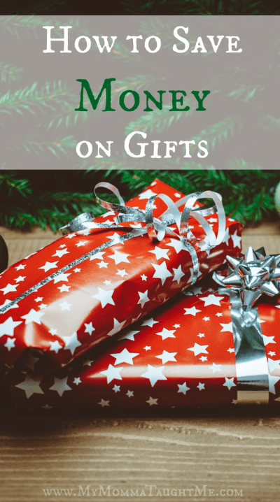 How to Save Money on Gifts Pinterest