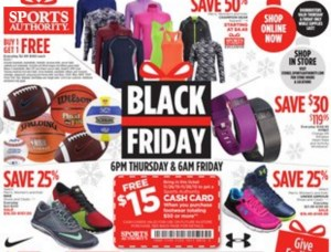 Sports authority black friday