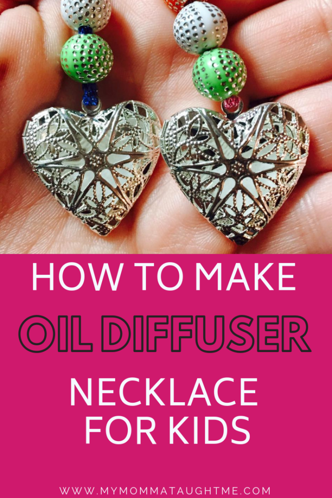 How To Make Oil Diffuser For Kids