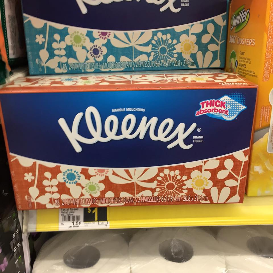Kleenex Tissues Only $0.70 a box at Dollar General