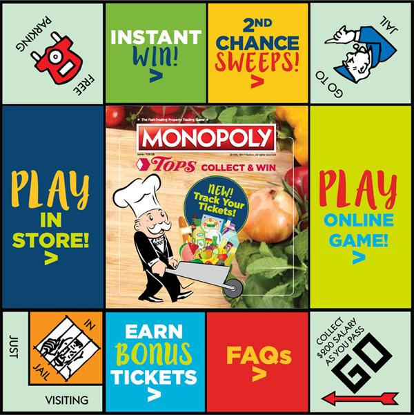 Monopoly Collect And Win Game