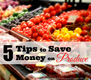 Tips to Save Money on Produce widget