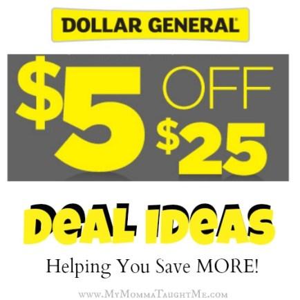Dollar General Deal Ideas