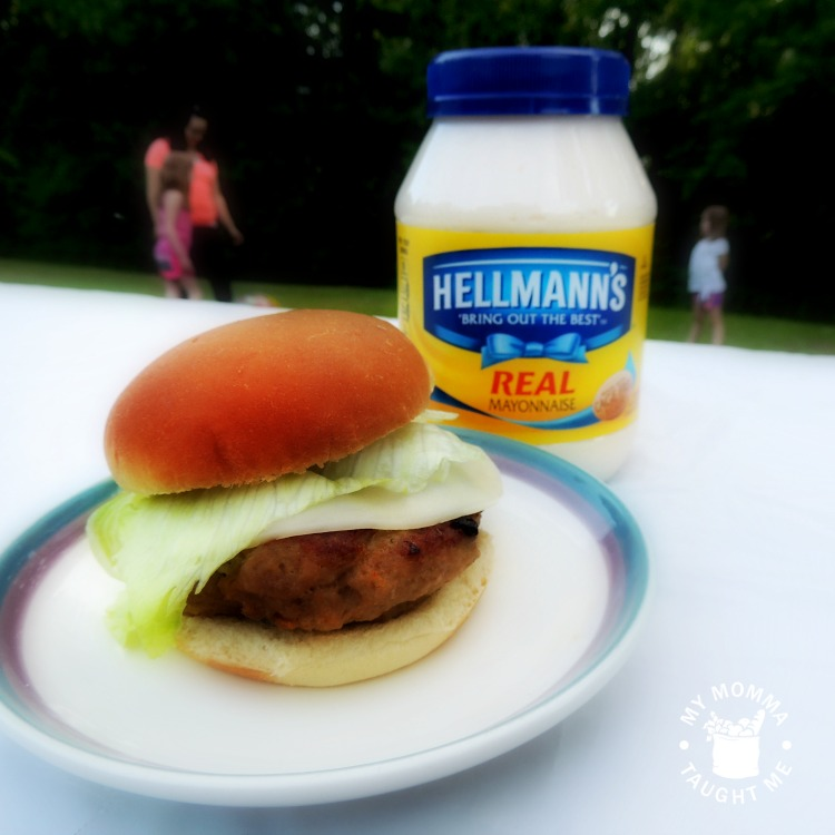 hellmanns juicy burger recipe