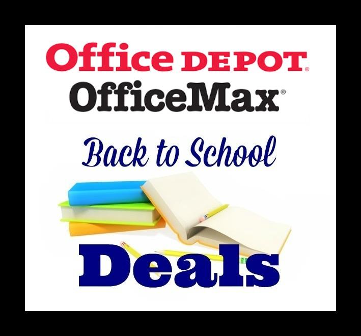 Office Depot Office Max BTS Deals