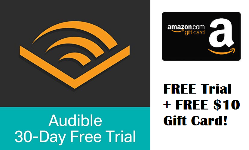 Free 3-month Subscription to Audible + FREE $10 Gift Card - My ...