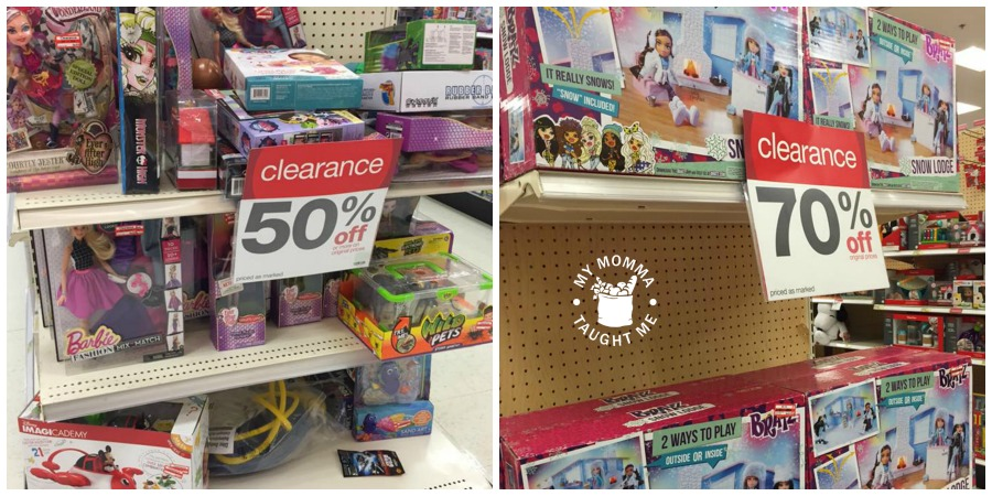 target annual toy clearance july 2016