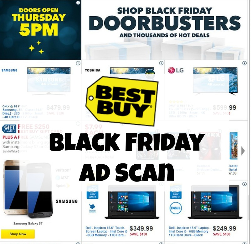 Best Buy Black Friday Ad Scan 2016
