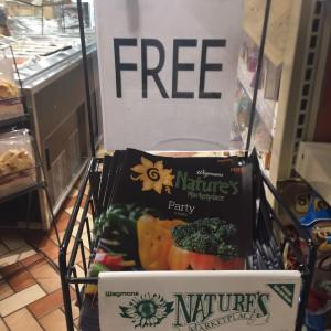 Natures Market Free Coupon Flier