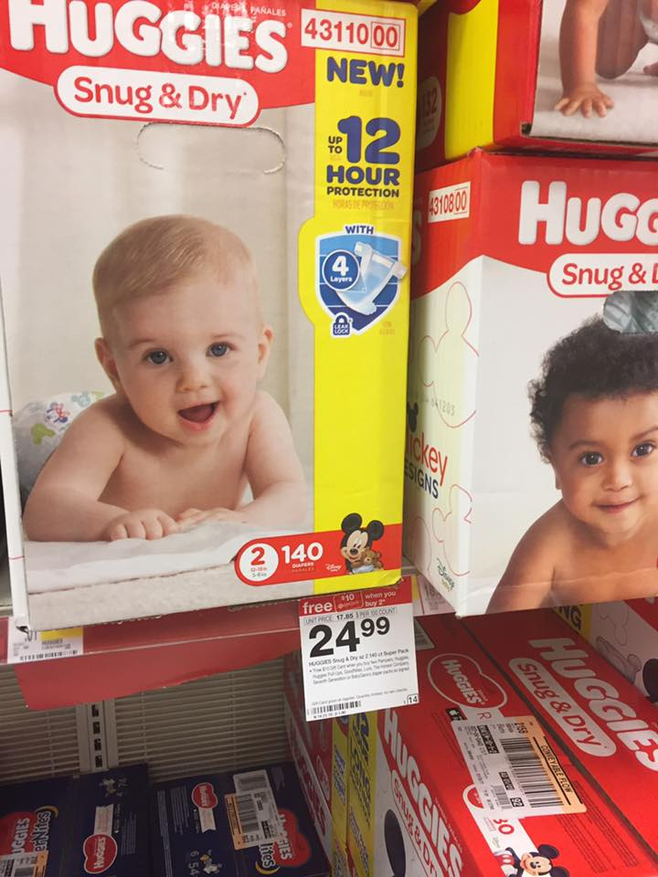 Huggies Gift Card Deal At Target