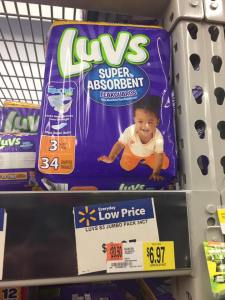 Luvs Baby Diapers At Walmart