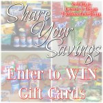 Share You Savings Gift Card Giveaway For Tops