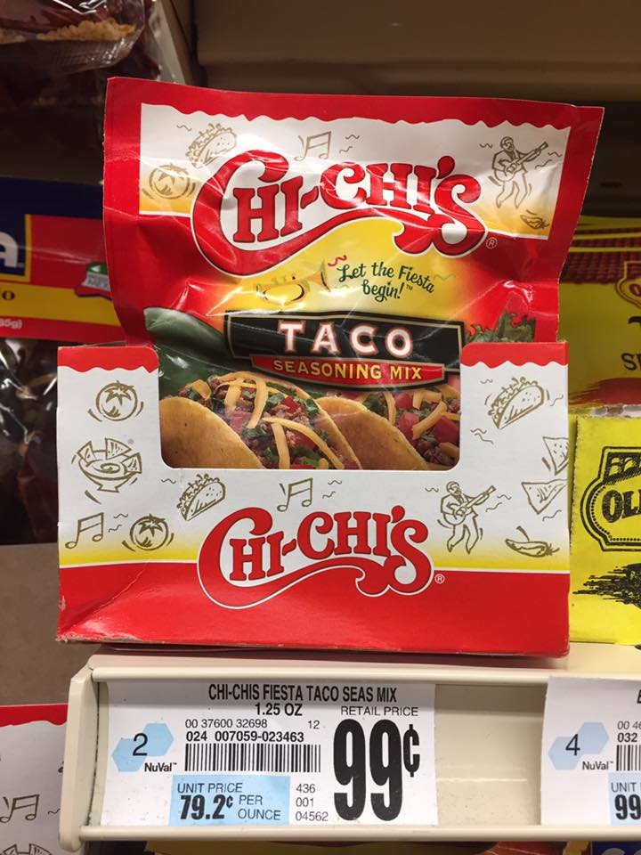Chi Chis Taco Seasoning At Tops