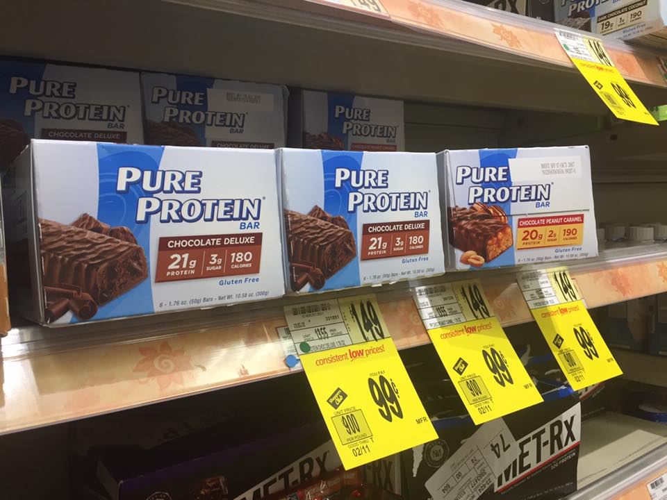 Pure Protein Bars Sale At Wegmans