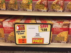 Tops Pasta Bogo Sale At Tops Markets