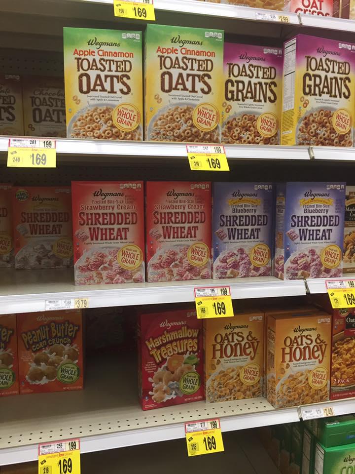 Wegmans Cereal Sale