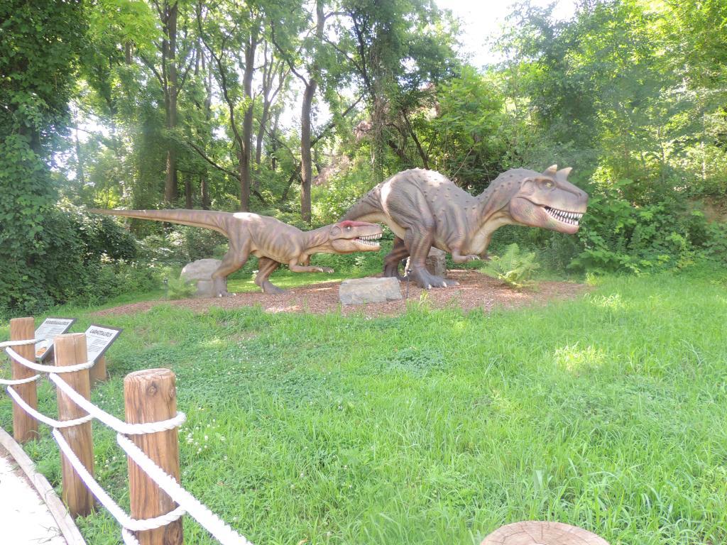 Dinosaur At Dorney Park 4
