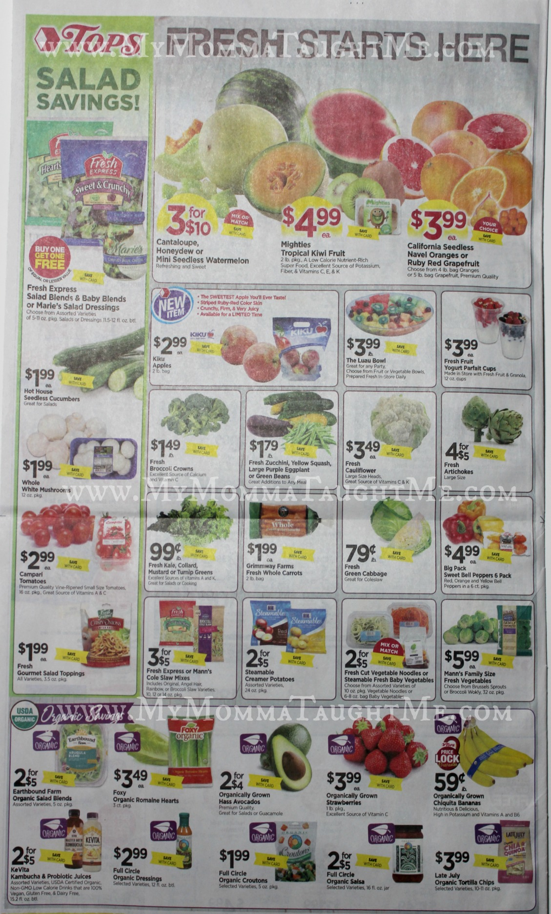 Tops Markets Ad Scan Week Of 2 26 17 To 3 4 17 Page 8