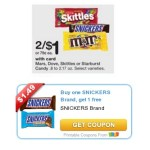 Snickers Bogo Coupon Use At Walgreens